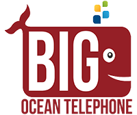 Big Ocean Telephone Logo